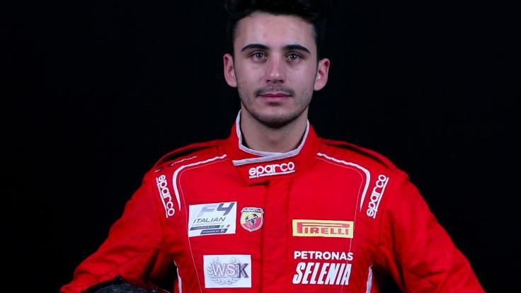 Alessio Daleda F3 Campos Racing