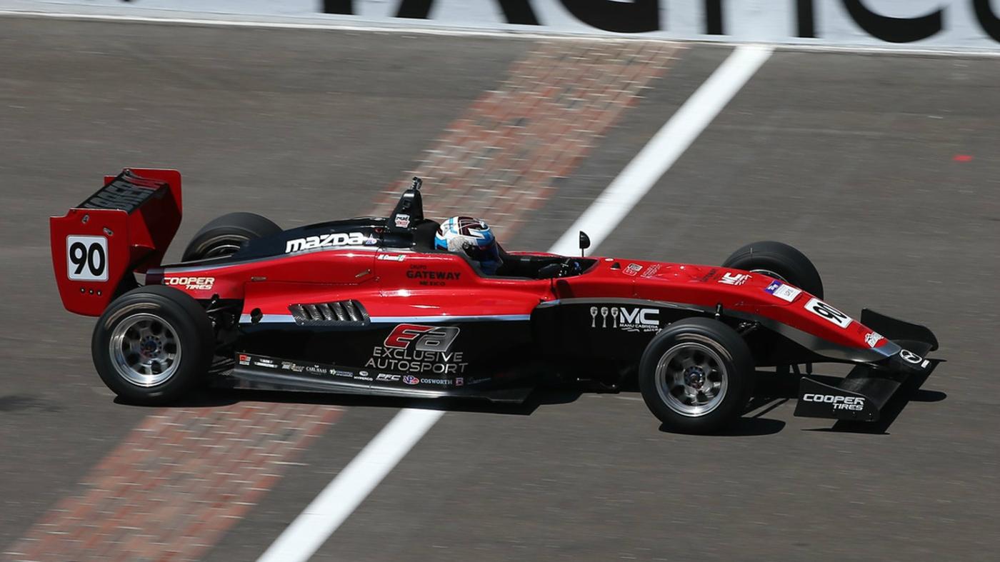 Manuel Cabrera USF2000 Exclusive Autosport