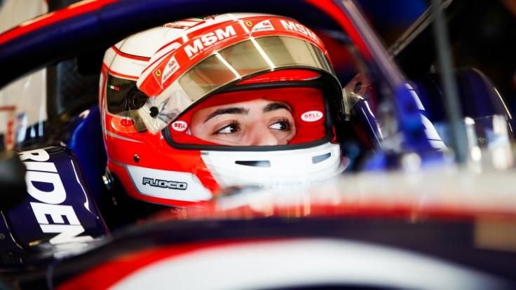 F2 Test Jerez Antonio Fuoco Trident wednesday