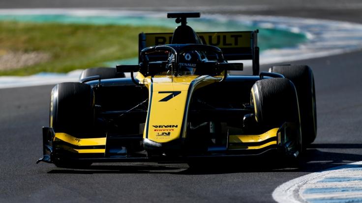 F2 Test Jerez Guanyu Zhou Uni Virtuosi