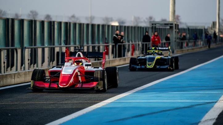 FIA Formula 3 shakedown