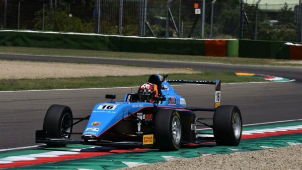 Axel Gnos Italian F4 Jenzer Motorsport