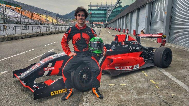Joey Alders BlackArts Racing Asian Winter Series F3
