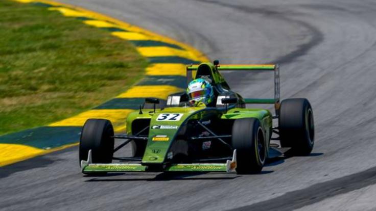 Jose Blanco F4 US Crosslink Racing with Kiwi Motorsport