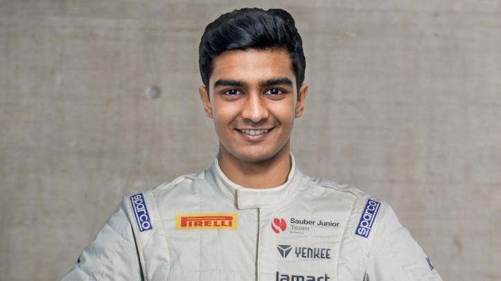 Raoul Hyman Sauber Junior F3