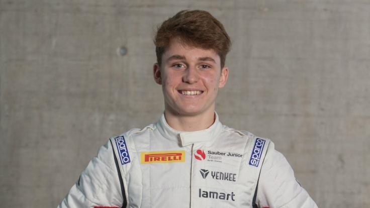 Roman Stanek Sauber Junior Team F4 UAE Dragon Racing