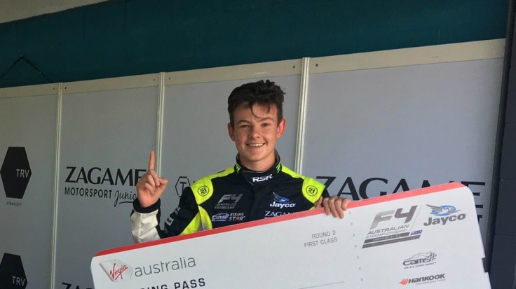 Ryan Suhle Australian F4 Team BRM