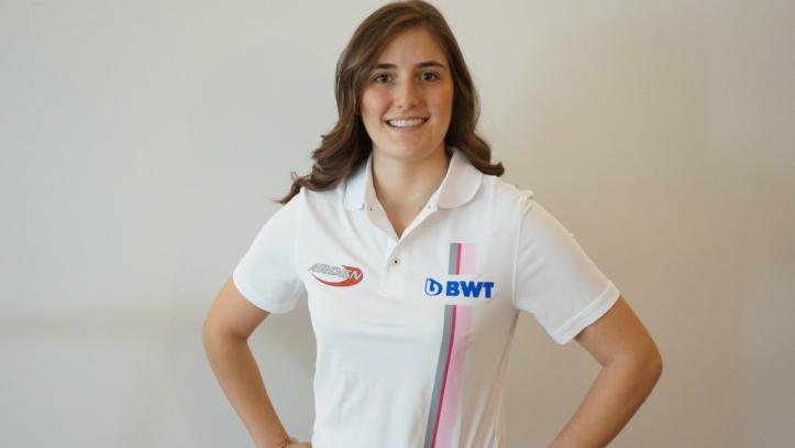 Tatiana Calderon BWT Arden F2