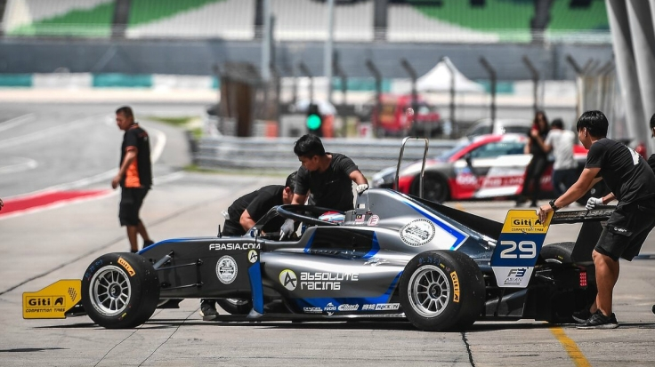Ye Yifei Absolute Racing Asian F3 Winter Series