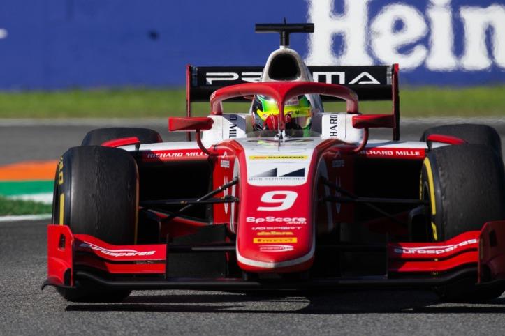 FIA Formula 2 Mick Schumacher Prema