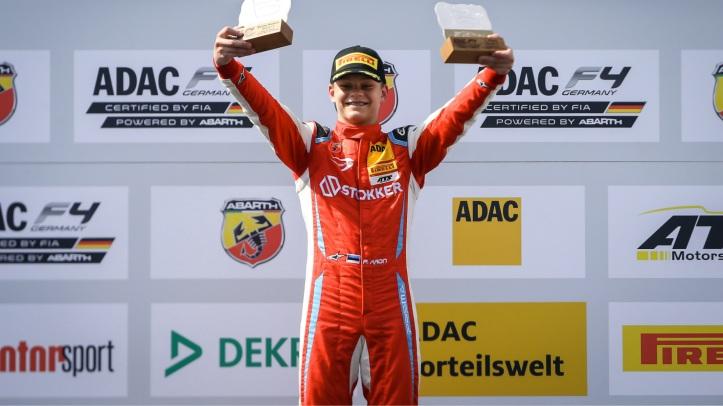 Paul Aron wins in ADAC F4
