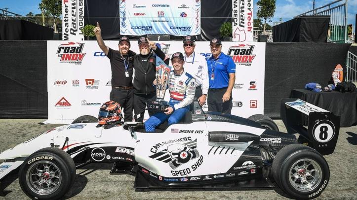 Braden Eves USF2000 Champion 2019