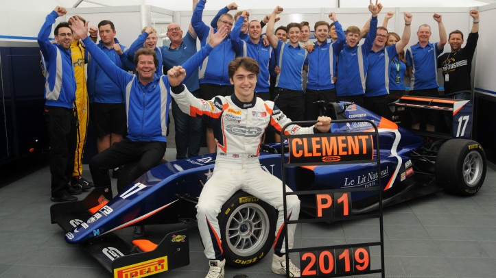 Clement Novalak British F3 Champion 2019