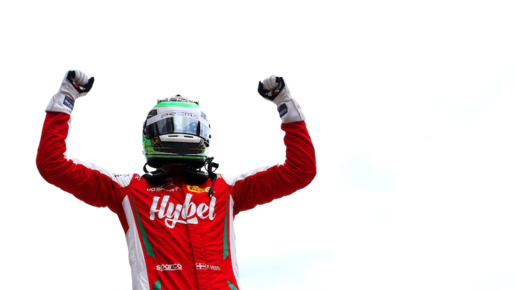 Frederik Vesti Formula Regional Champion 2019