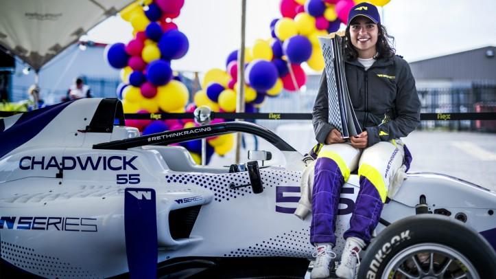 Jamie Chadwick W Series Champion 2019
