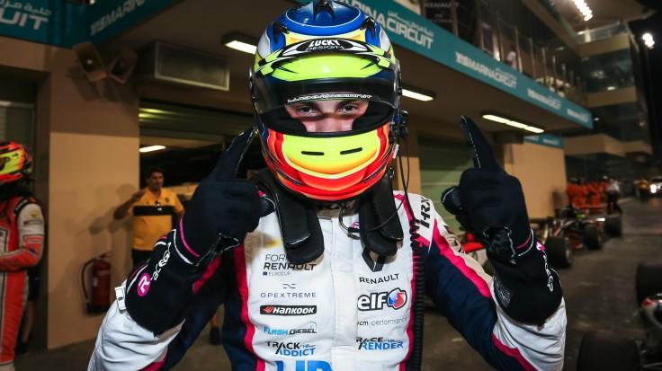 Oscar Piastri Formula Renault Eurocup Champion 2019