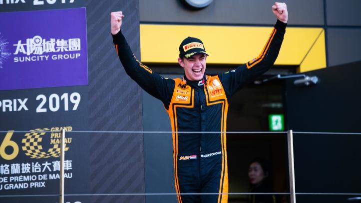 Richard Verschoor Macau GP Champion 2019