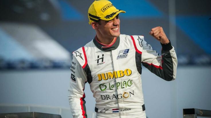 Rinus Veekay F3 Asian Champion 2019