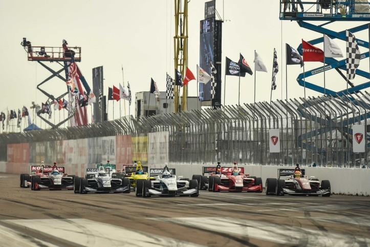 Indy Lights - start st pete 2019
