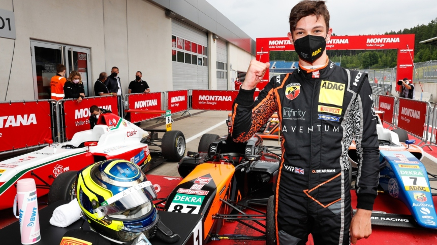 Why Oliver Bearman Is One Of Britain's Biggest Upcoming Racing Stars – F1  Feeder Series